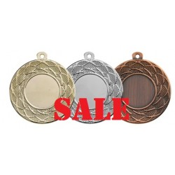 Medaille E102 (goud, zilver of brons) 50mm